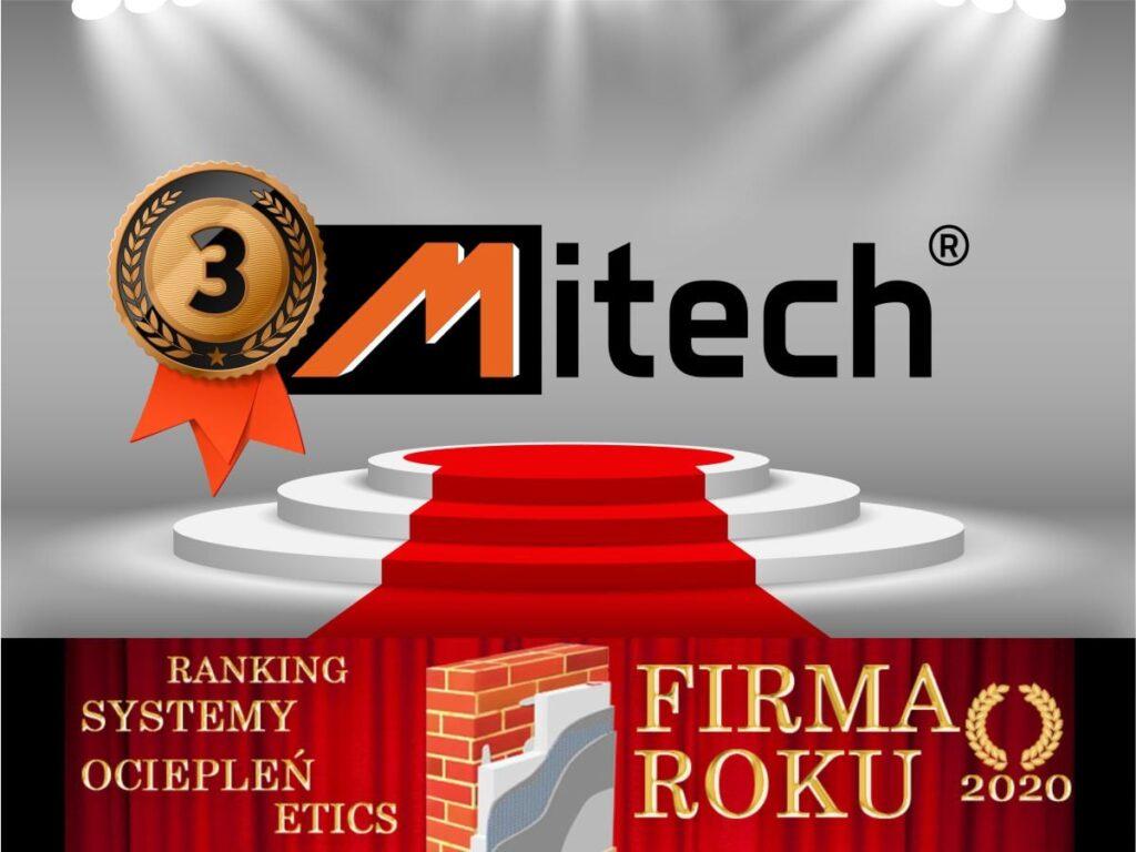 Mitech - Firma Roku 2020 Systemy Ociepleń Budynków ETICS.